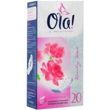 Ежедневные прокладки Ola! Daily Deo Бархатная роза 20шт.