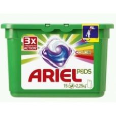 Гель в капсулах Ariel Pods 3в1 Color & Style 15 шт.