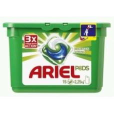 Гель в капсулах Ariel Pods 3в1 Горный родник 15 шт.