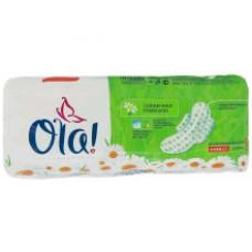 Гигиенические прокладки Ola! Wings Normal Солнечная ромашка 8шт.