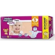 HELEN HARPER Baby Подгузники Junior 11-18 кг. 54 шт.