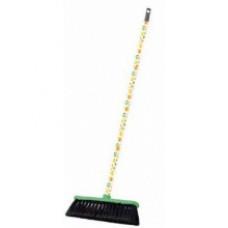 Комплект для уборки щетка зеленая + черенок 120 см Декор