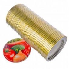 Крышка металлическая для консервирования ЭЛИТНАЯ СКО 1-82 50 шт.