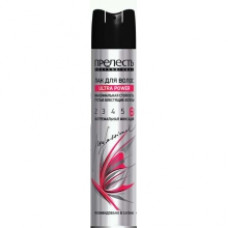 Лак для волос ПРЕЛЕСТЬ Professional ULTRA POWER 300 см.