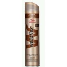 Лак для волос Wellaflex Блеск и фиксация супер-сильной фиксации 250 мл.