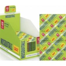 Mosquitall Универсальная защита Пластины от комаров 10 шт.