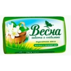 Мыло туалетное ВЕСНА Жасмин и зеленый чай 90 г.