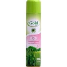 Освежитель для воздуха GOLD WIND Green Grass 300мл.
