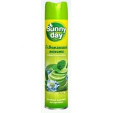 Освежитель воздуха Sunny Day Освежающий мохито 300мл.