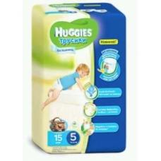Подгузники HUGGIES Трусики-подгузники для мальчиков 14-18кг. 15шт