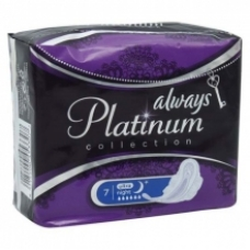 Прокладки Always Ultra Platinum Collection Night Single 7 шт.