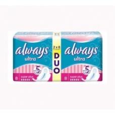 Прокладки Always Ultra  Super Duo 16 шт.