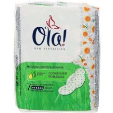 Гигиенические прокладки Ola! Ultra Night Ромашка 7шт.
