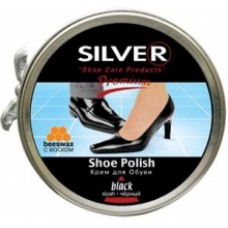 СИЛЬВЕР Premium Крем для обуви Классик в банке КОРИЧНЕВЫЙ 50мл.
