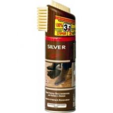СИЛЬВЕР Premium Спрей-восстановитель для нубука и замши коричневый 200 мл.