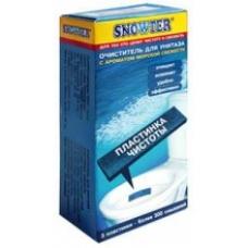 SNOWTER Пластинка чистоты для унитаза Морская свежесть 3 шт.