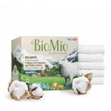 Стиральный порошок BioMio BIO-WHITE для стирки белого белья с экстрактом хлопка 1,5 кг.