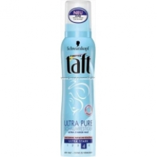TAFT Пена Ultra Pure для укладки, сверхсильная фиксация 150 мл.