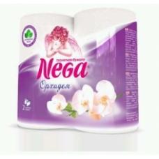 Туалетная бумага Nega Aroma Орхидея белая 2 сл. 4 шт.