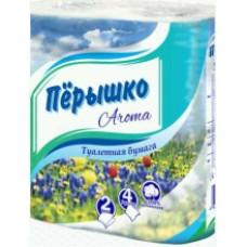 Туалетная бумага ПЕРЫШКО Парфюм Арома 2 слоя 4 рулона