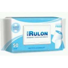 Влажная туалетная бумага Mon Rulon (с пластиковым клапаном) 50 шт.