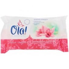 Влажные салфетки Ola! для интимной гигиены Орхидея 15шт.
