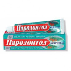 Зубная паста ПАРОДОНТОЛ Кедровый 63г.