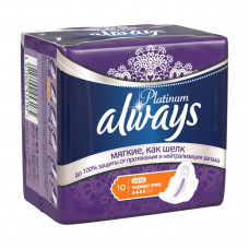 Прокладки Always LTRA Platinum Collection Normal Plus Single 10 шт.