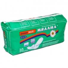 Прокладки МИЛАНА Макси софт+гель 10 шт.