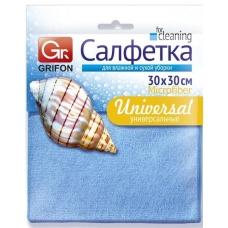 GRIFON Салфетка из микрофибры универсальная 30 × 30 см.