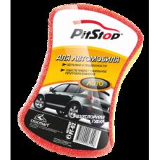 """Губка для авто """"PITSTOP"""" двухслойная, 1 шт."""
