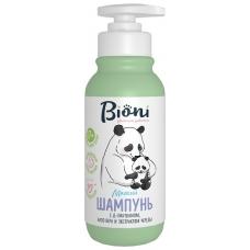 Bioni Детский шампунь для самых маленьких с алоэ вера и экстрактом череды 250 мл.