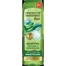 Шампунь для волос Прелесть Bio Питание и увлажнение 500 мл.