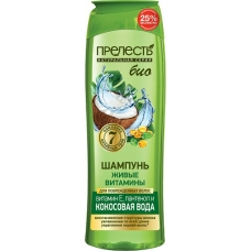 Шампунь для волос Прелесть Bio Живые витамины 500 мл.