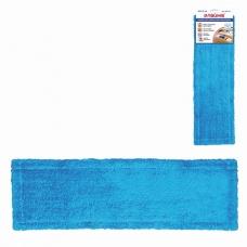 ЛАЙМА Насадка МОП для швабры , карманы, 40х10 см, микрофибра, для сухой и влажной уборки