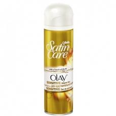 Гель для бритья Gillette Satin Care для чувствительной кожи 200 мл.