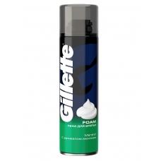 Пена для бритья Gillette Foam Menthol С ароматом ментола 200 мл.