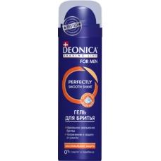 Гель для бритья DEONICA FOR MEN Максимальная защита 200 мл.
