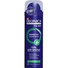 Гель для бритья DEONICA FOR MEN Для чувствительной кожи  200 мл.