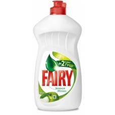 Средство для мытья посуды Fairy Зеленое яблоко 450 мл.