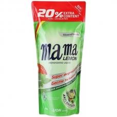 МАМА ЛИМОН Моющее средство концентрированное Зеленый чай 600мл. сменный блок
