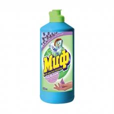 Средство для мытья посуды Миф с ароматом лаванды 500 мл.