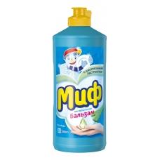 Средство для мытья посуды Миф с Алоэ Вера 500 мл.