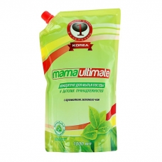 MAMA Ultimate Моющее средство концентрированное Зеленый чай 1000 мл.