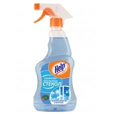 Средство «Help» для мытья стекол нашатырным спиртом 750мл.