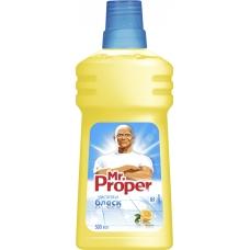 Моющая жидкость для уборки Mr. Proper Лимон 500 мл.