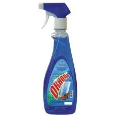 Моющее средство «Окноль» для мытья стеклянных и зеркальных поверхностей 550 мл.