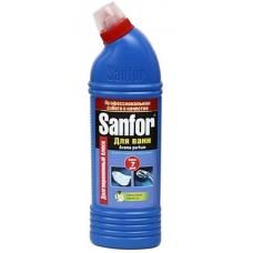 Чистящее средство SANFOR для ванн Лимон 750мл.