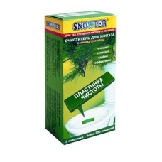 SNOWTER Пластинка чистоты для унитаза Хвоя 3 шт.