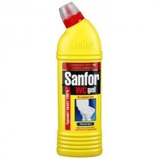 Чистящее средство SANFOR WC-гель Лимон 1л.